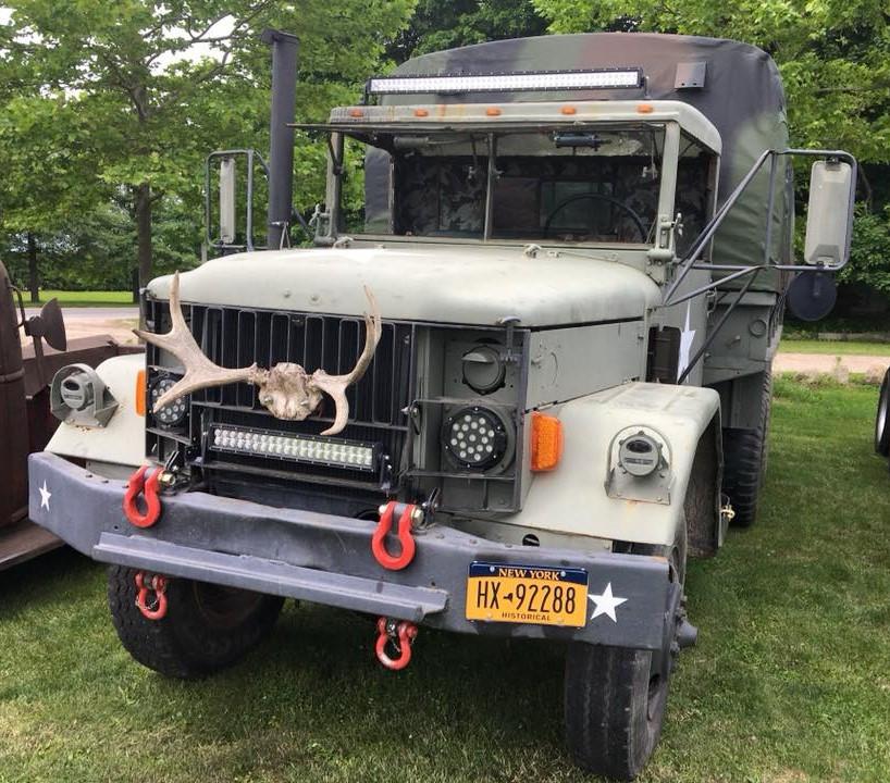 Military cargo truck