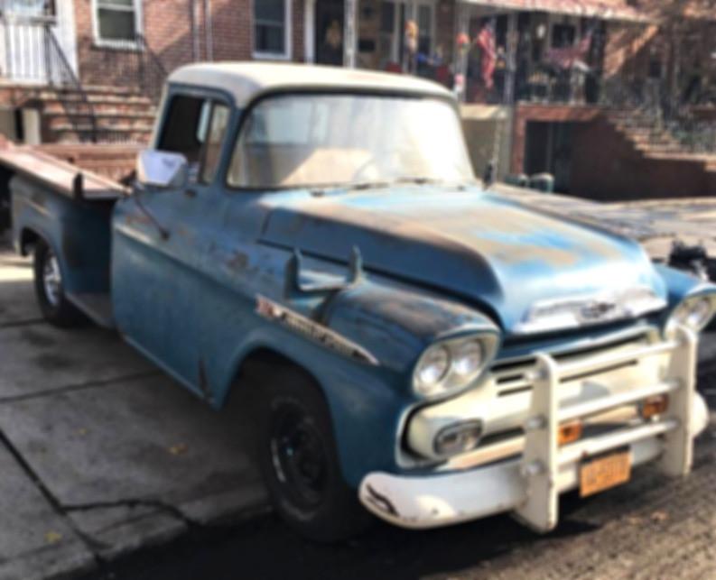 1959 Chevrolet Apache 3200 pickup - Angelo Petraglia