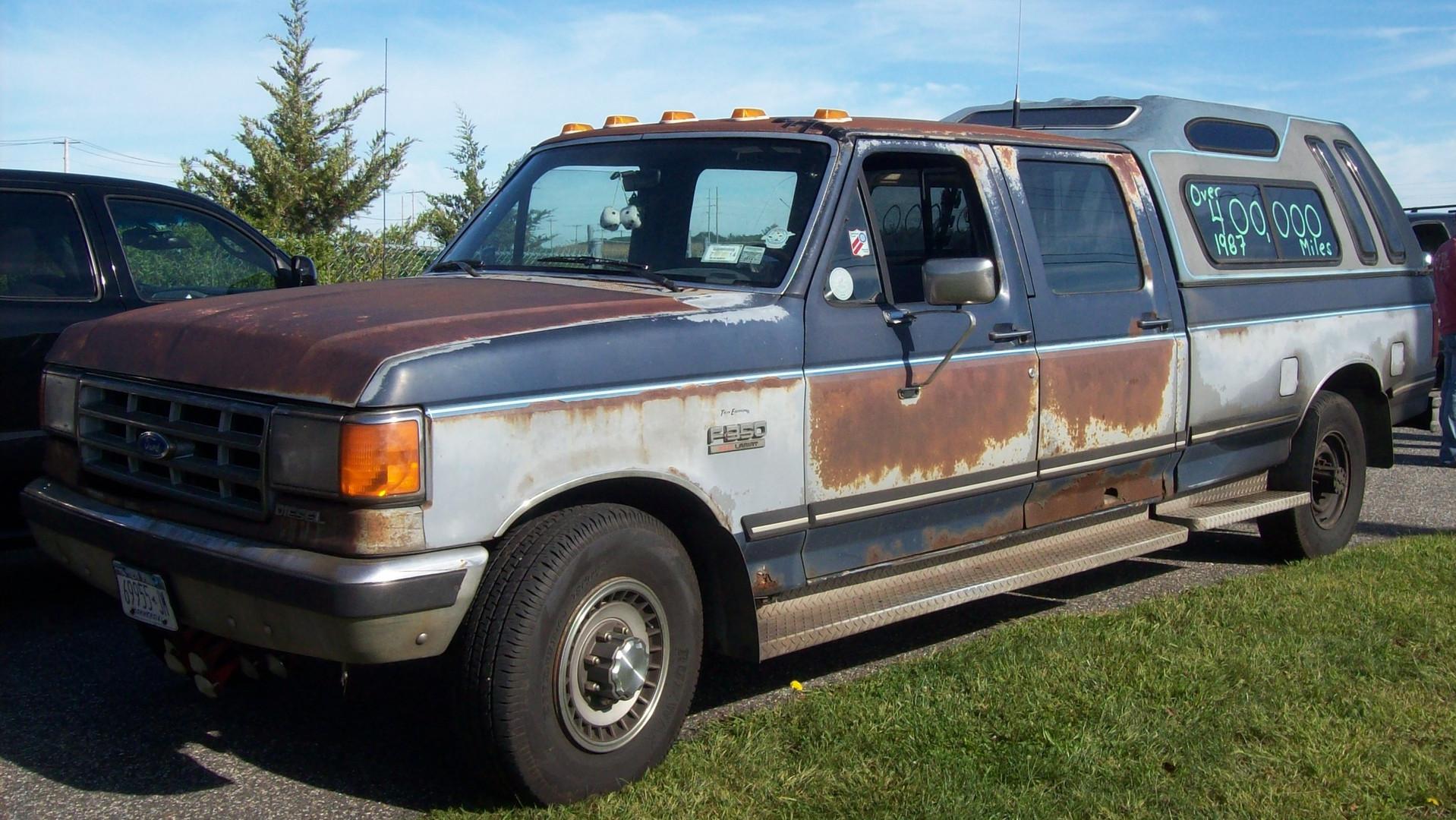 Karl Walz Sr's. 1987 Ford F-350 pickup