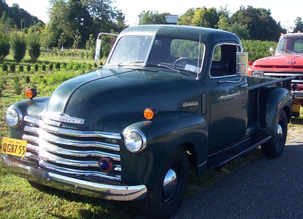 1948 Chevrolet Thriftmaster pickup - Jude Petroski