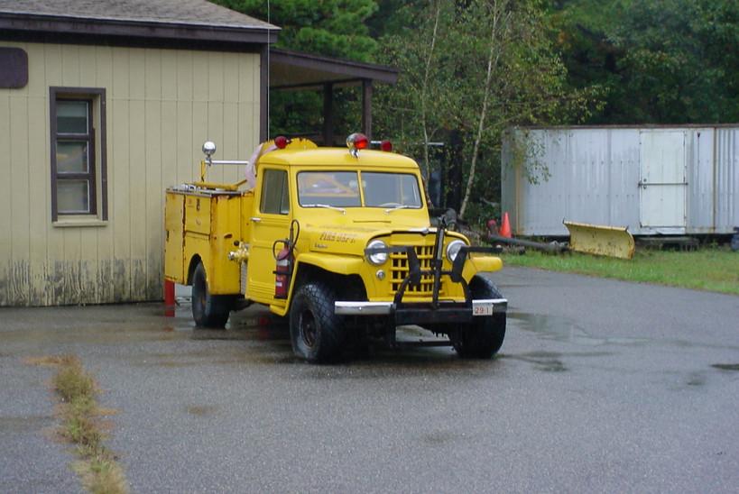 Former Ocean Bay Park F.D. (Fire Island) engine