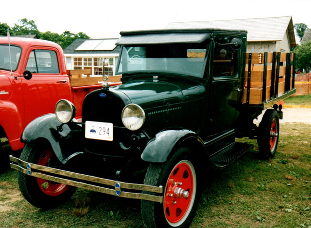 1929 Ford Model AA stake bed from Rhode Island