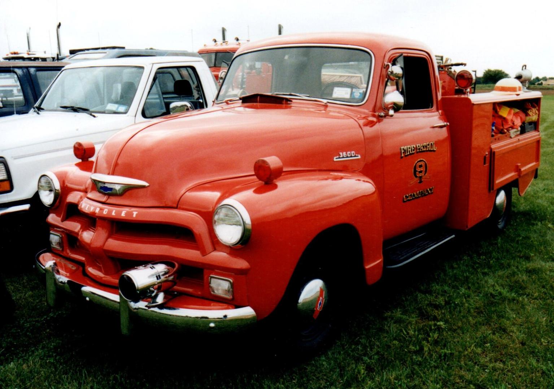 Philip Kenter's 1954 Chevrolet fire patrol truck