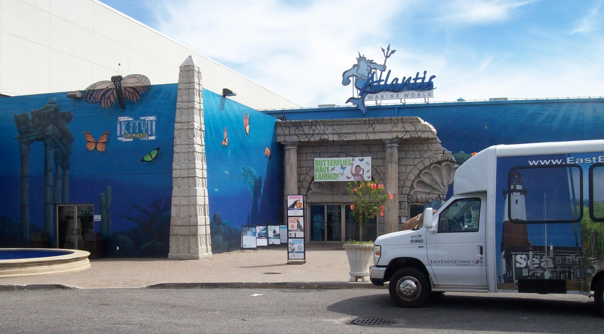 Final stop - the Atlantis Long Island Aquarium