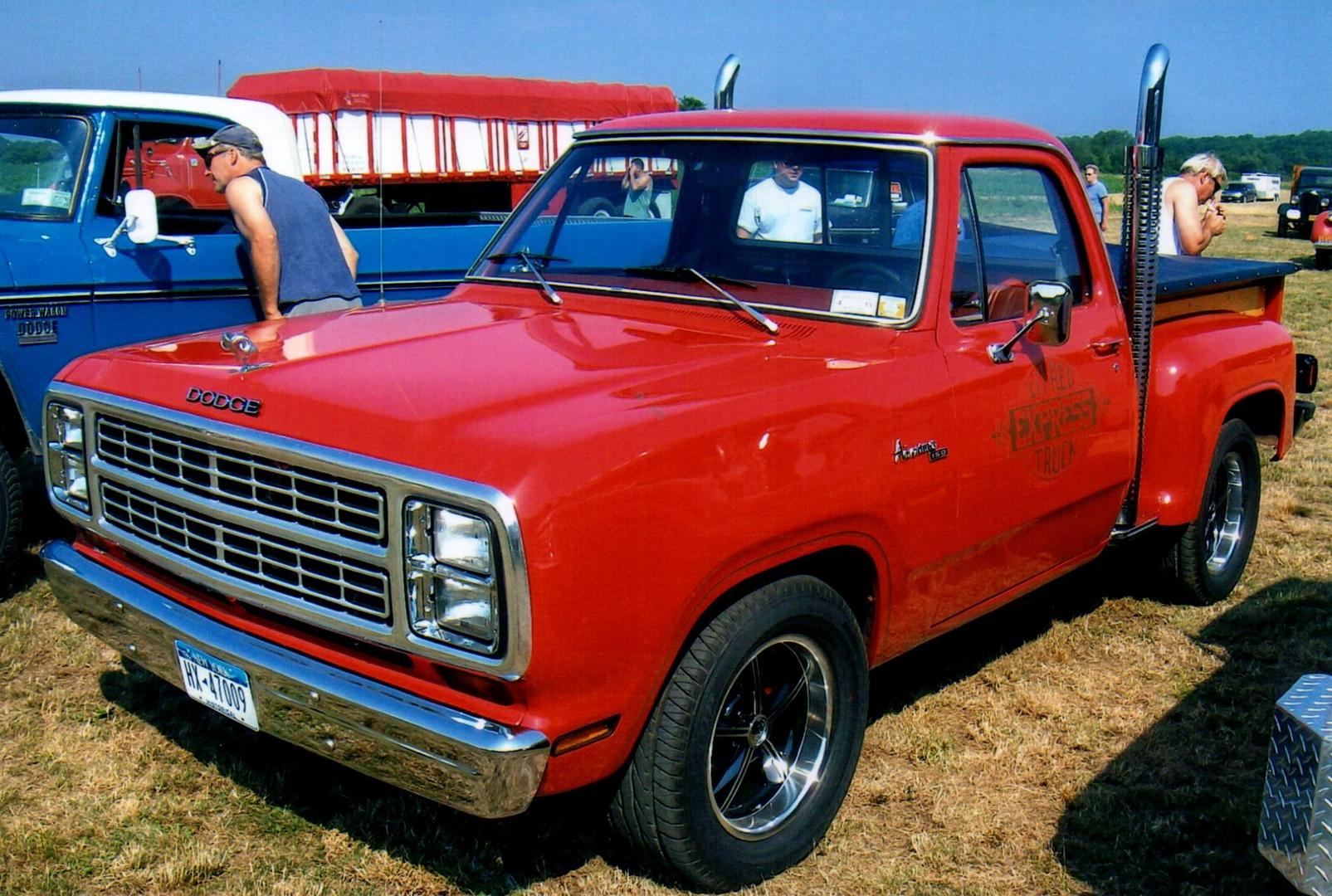 1979 Dodge Little Red Express pickup - Glenn Ketcham