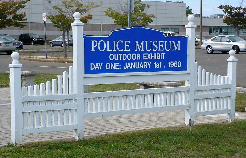 First stop, the Suffolk County Police Museum in Yaphank