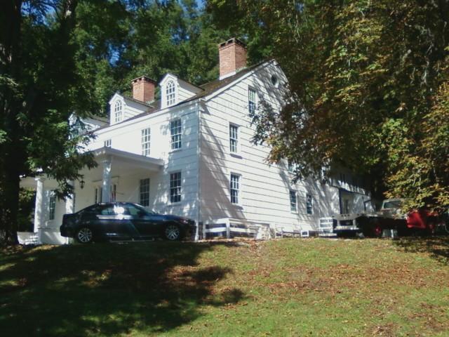 First stop - the 1766 Joseph Lloyd Manor in Lloyd Harbor