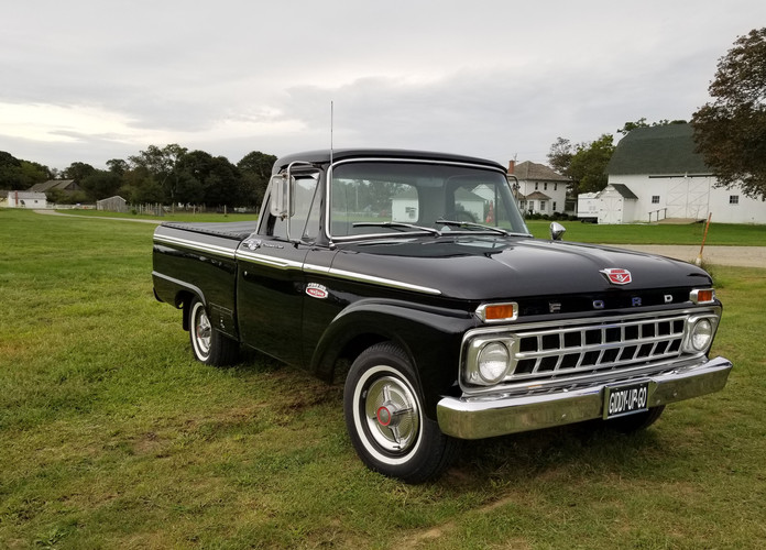 Brent Robedee's 1965 Ford pickup