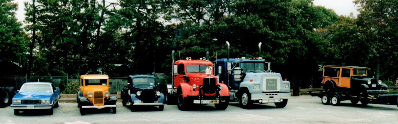 Member's trucks on the run