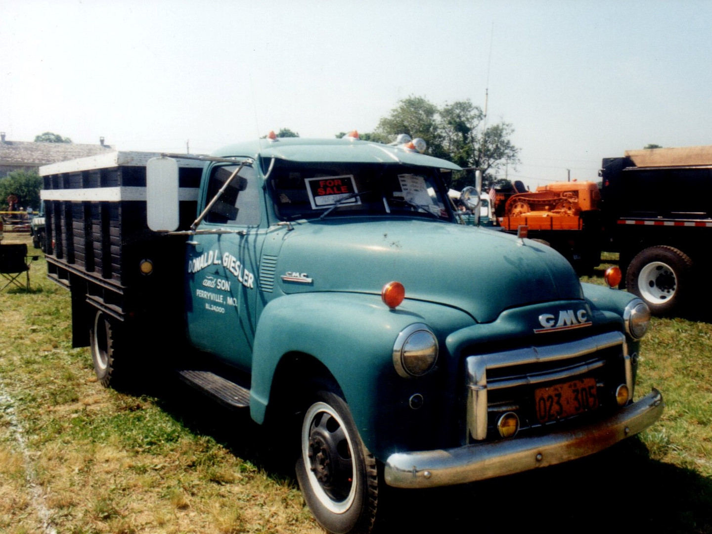 1948 GMC stake bed - Robert Mohr