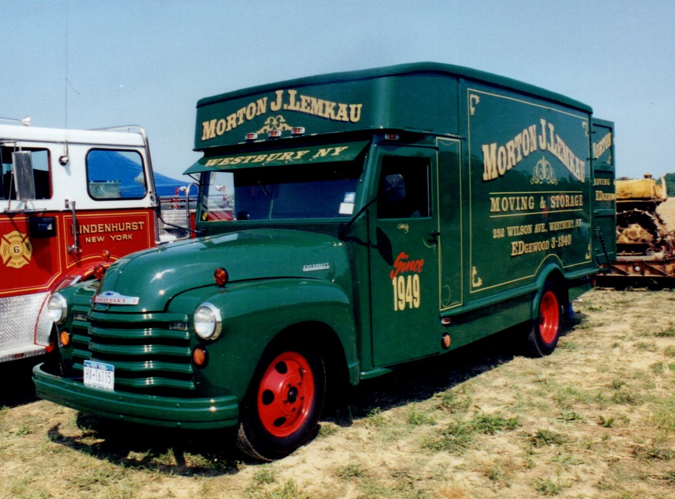 1949 Chevrolet moving van - Morton Lemkau