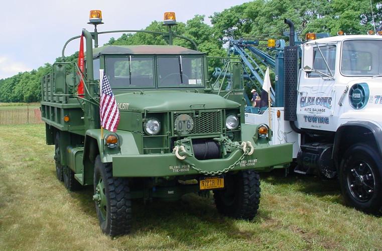 Drew Haagenson's 1971 AM General M35A2 cargo