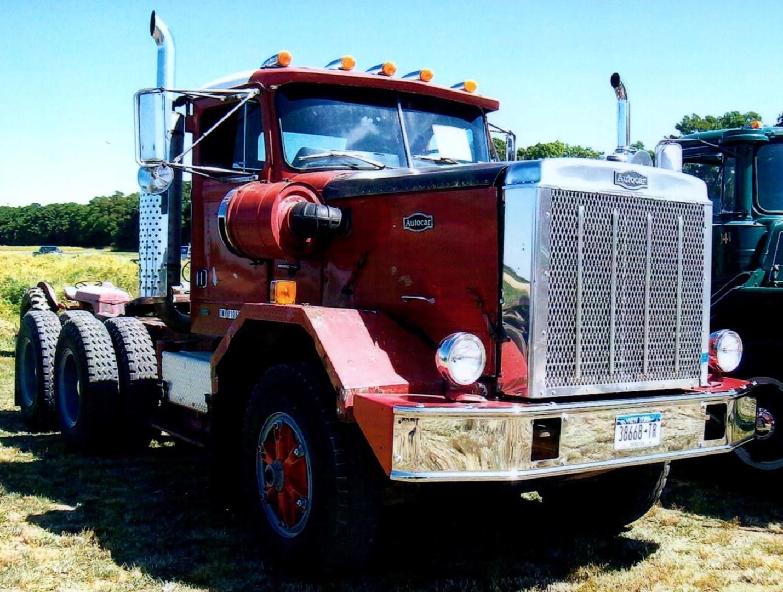 1987 Autocar DK tractor - Jim Appio