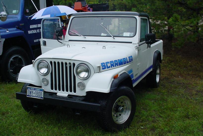 Philip Huntington's 1984 Jeep CJ-8 Scrambler pickup
