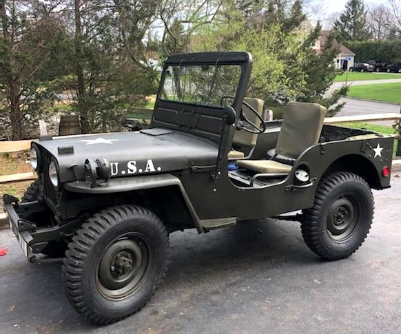 1951 Willys M-38 Jeep - Jude Petroski