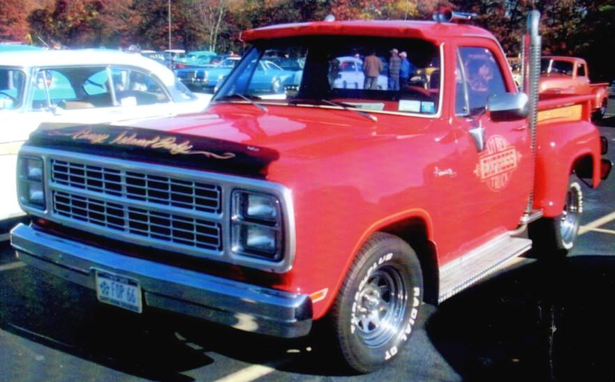 "1979 Dodge ""Lil Red Express"" pickup"