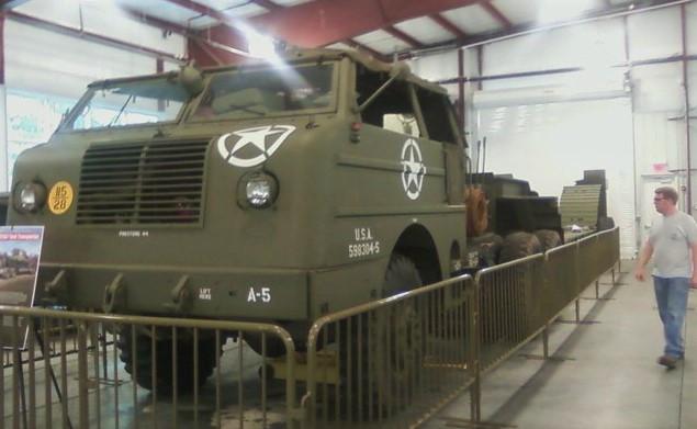 WWII tank hauler