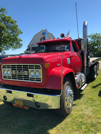 John Keibel Jr's 1969 GMC 9500 flatbed
