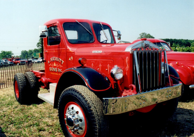 1949 Sterling cab & chassis from Connecticut