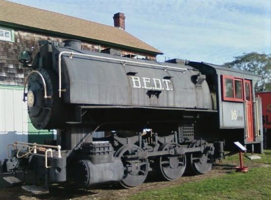 Steam engine locomotive in use until 1966