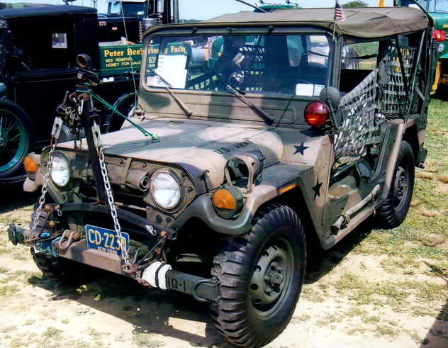 1968 Ford M151A2 Military Jeep