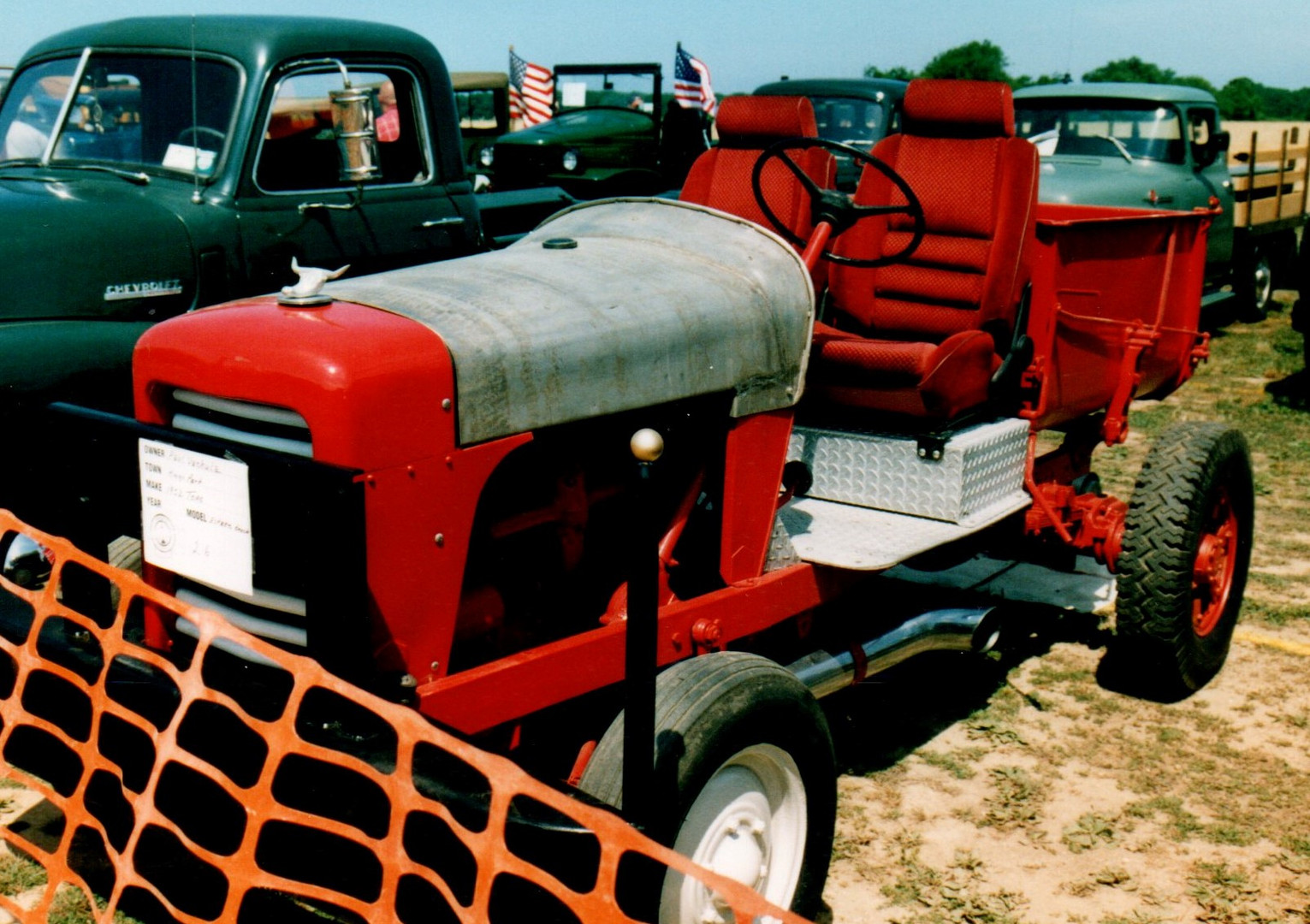 1953 Toro Estate tractor -Paul Vachula