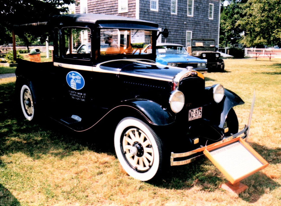 1930 Dodge Canopy Express - Nick Nuzzi