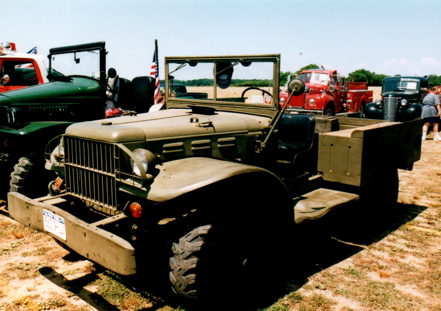 1942 Dodge WC-51 command car - Harry Miller