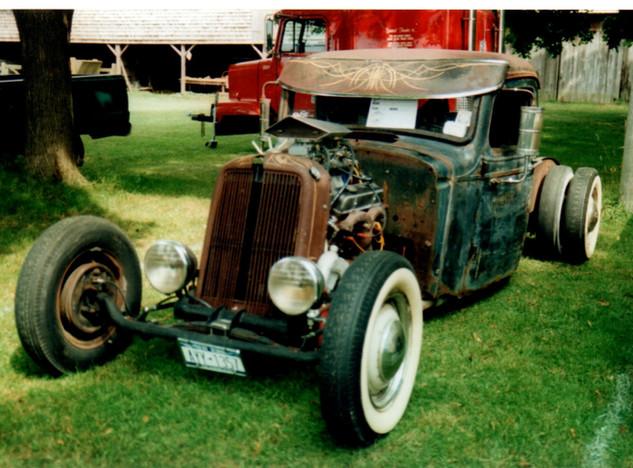 "1933 Ford ""Rat Rod"" pickup"