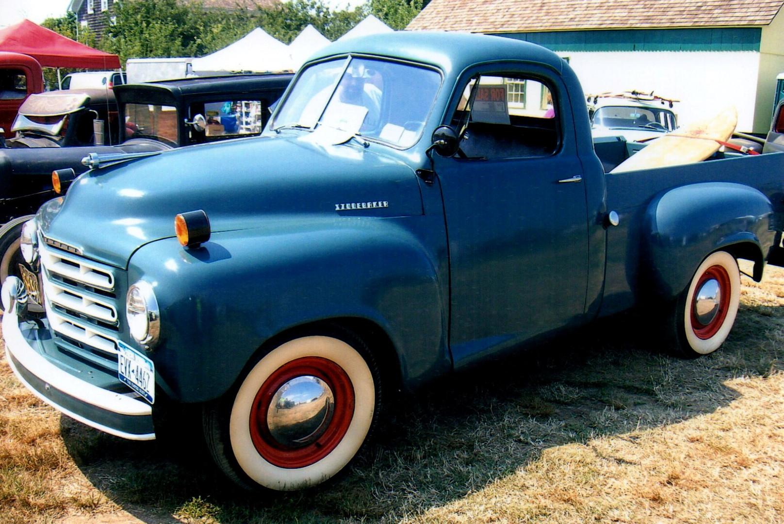 1950 Studebaker 2RS pickup