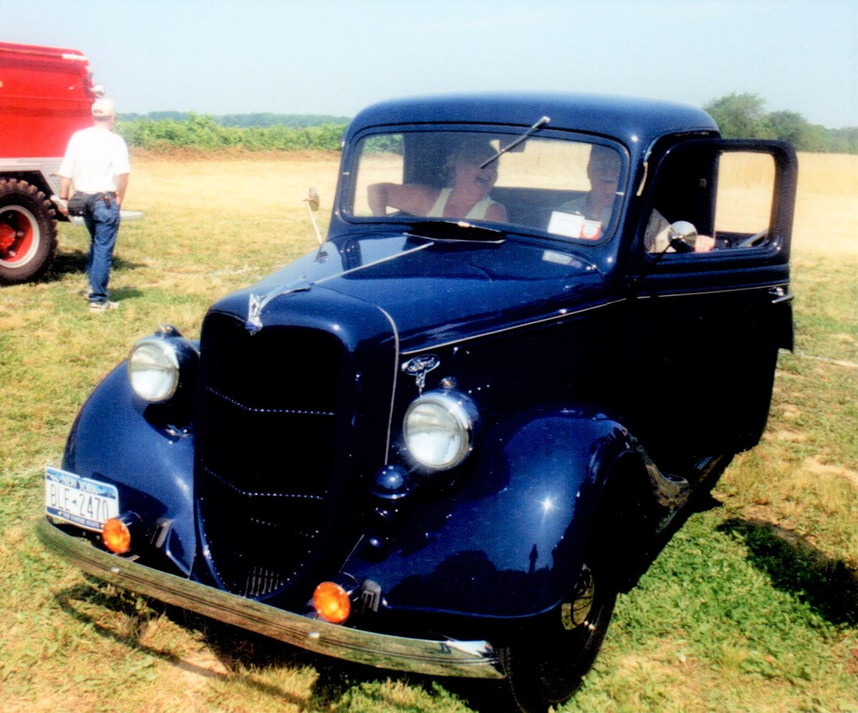1936 Ford pickup - Floyd Chivvis