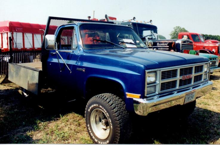 1983 GMC Sierra flatbed - George Erb