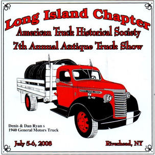 2008 Chapter Truck Show Dash Plaque 3 Remaining - .50ea.