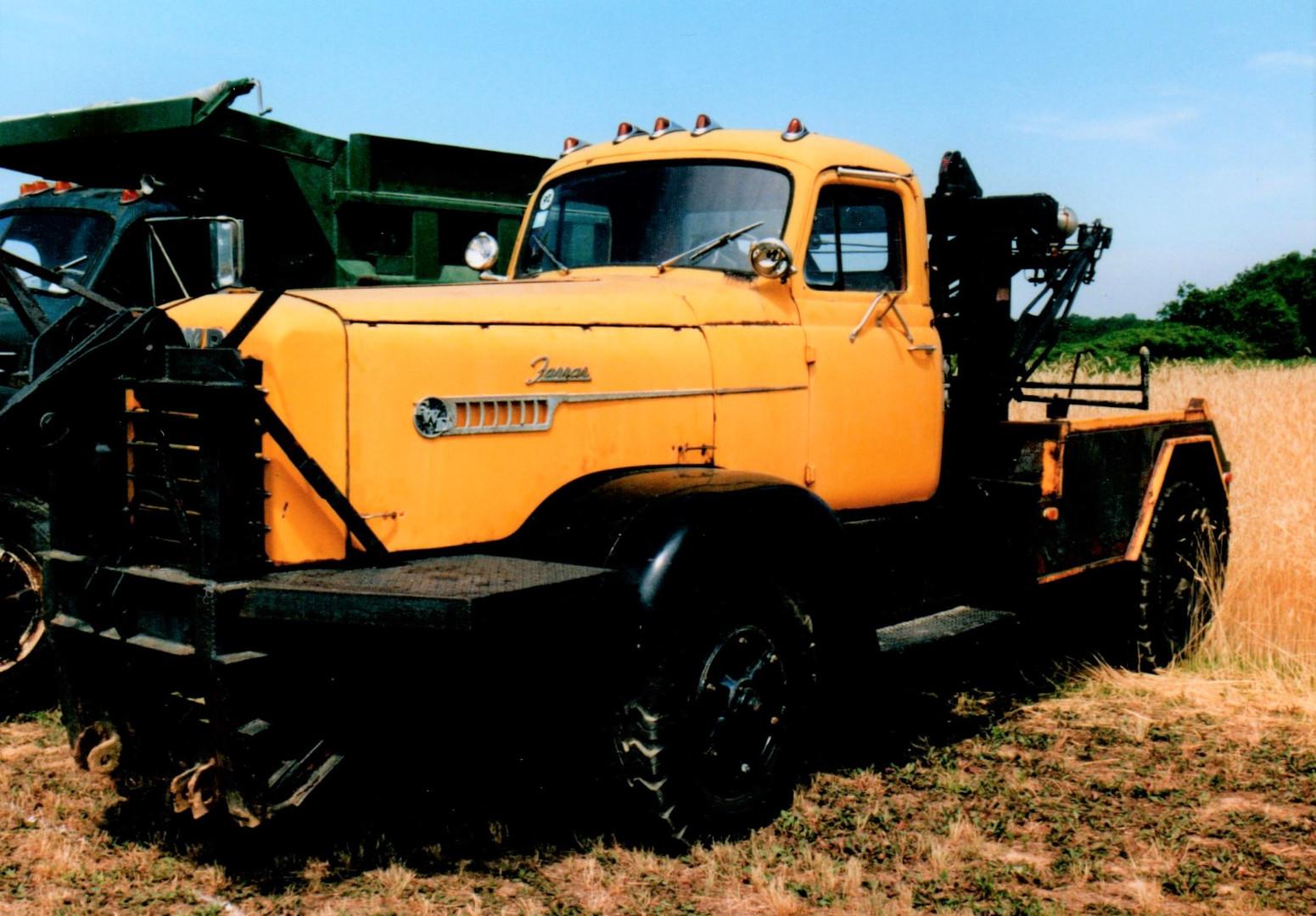 1959 FWD wrecker - Bob Pfluger