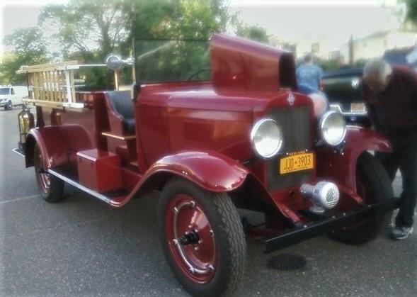 1929 Chevrolet American LaFrance hose wagon - Floyd Chivvis