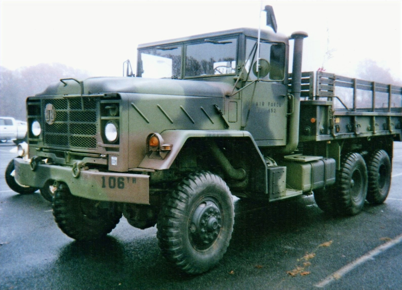 Robert Viscardi's 1984 AM General M923 cargo