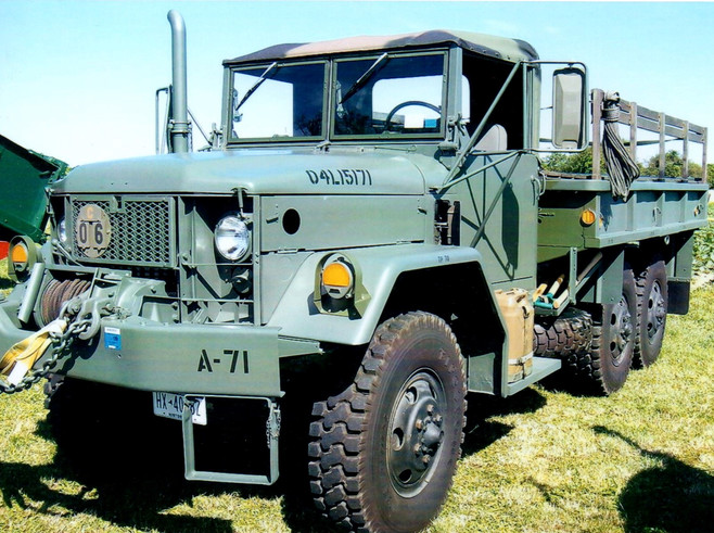 1971 AM General M35A2 cargo - Drew Haagenson