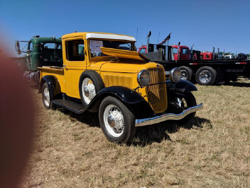 Featured Truck - 1933 Ford pickup - Ron Bruschi