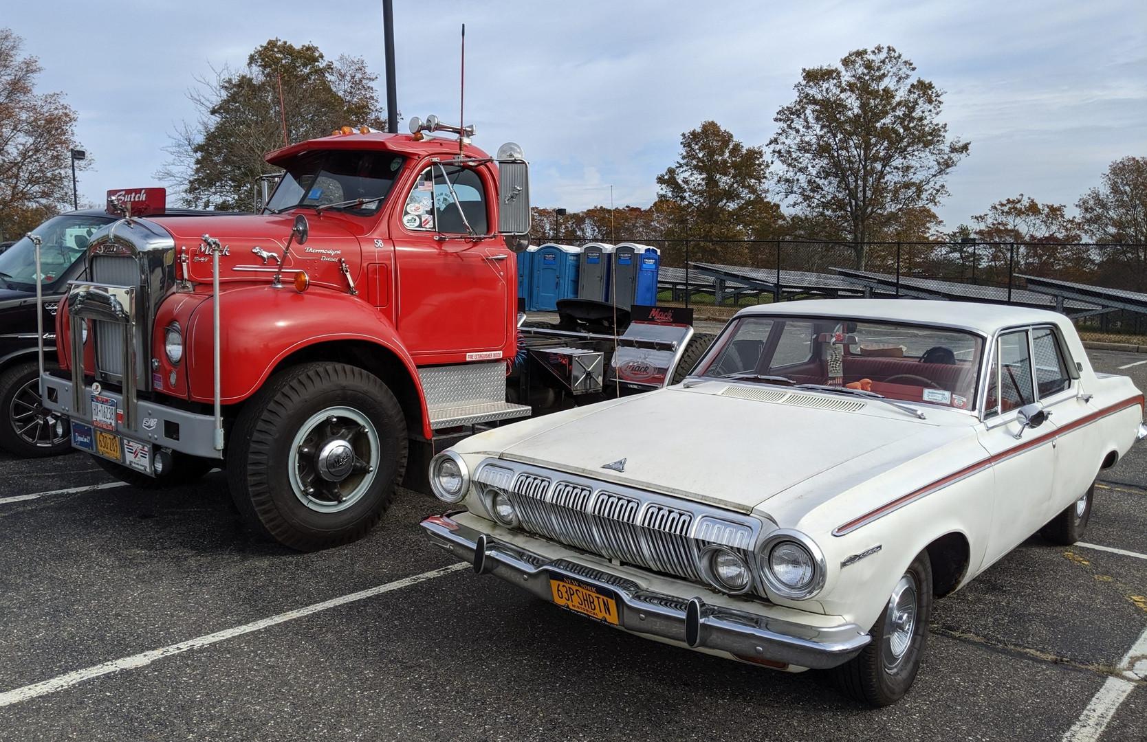 Howard Pratt's 1958 Mack & Ed McKernan's 1963 Dodge