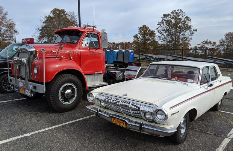 Howard Pratt's 1958 Mack & Ed McKernan's 1963 Dodge