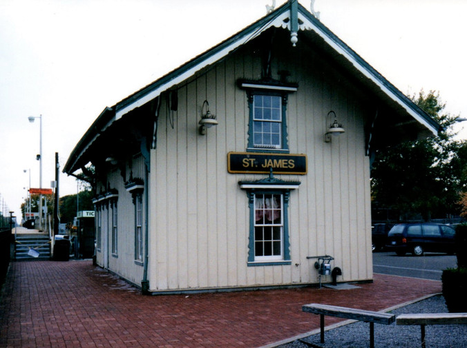 Meeting Location - the 1873 St. James railroad station