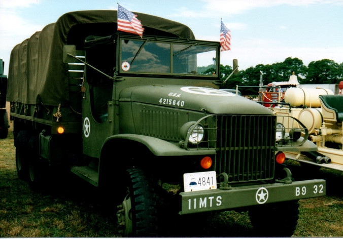 1944 GMC CCKW cargo from Rhode Island