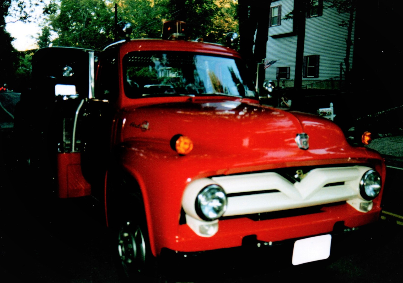 1955 Ford F-600 flatbed - Floyd Chivvis