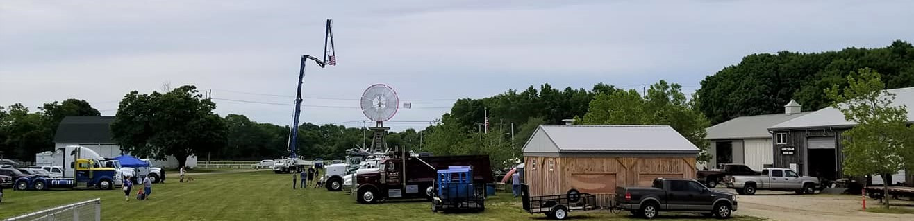 View of show grounds