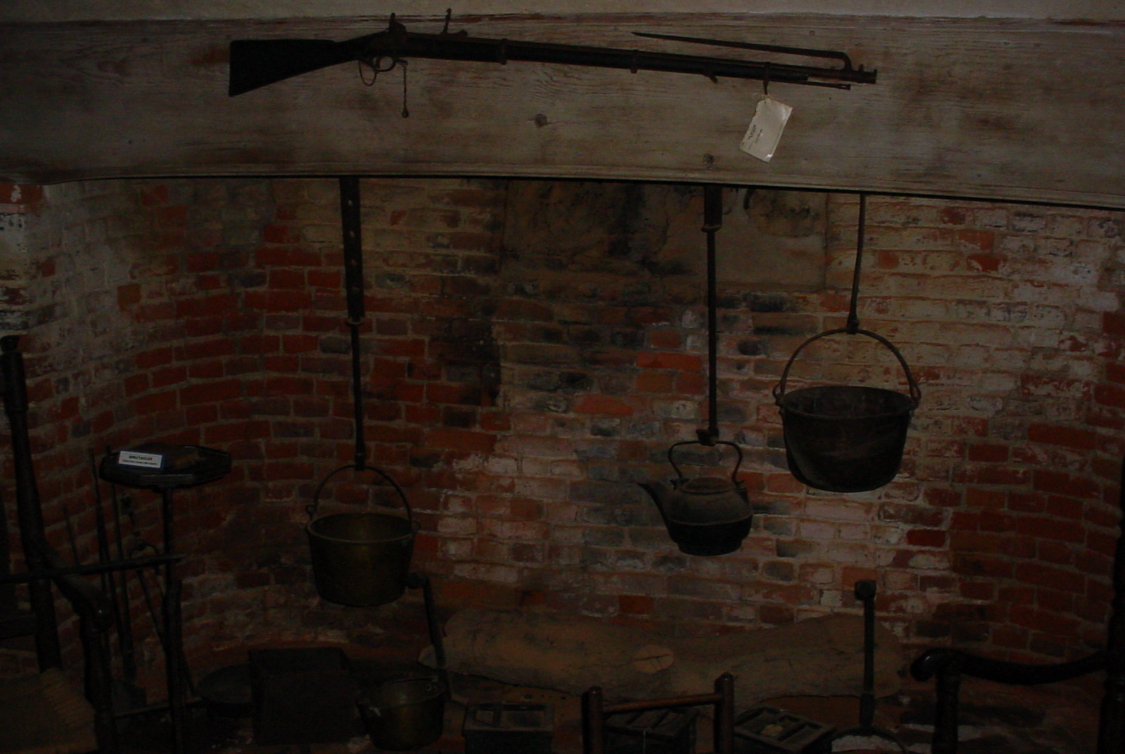 Cooking utensils in the Old House