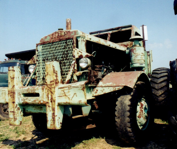 1951 Euclid tractor - Bob Pfluger