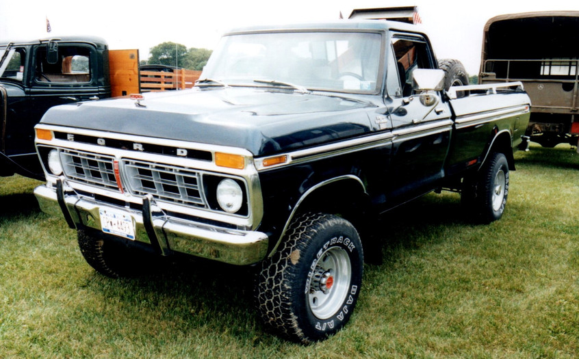 William King's 1976 Ford pickup