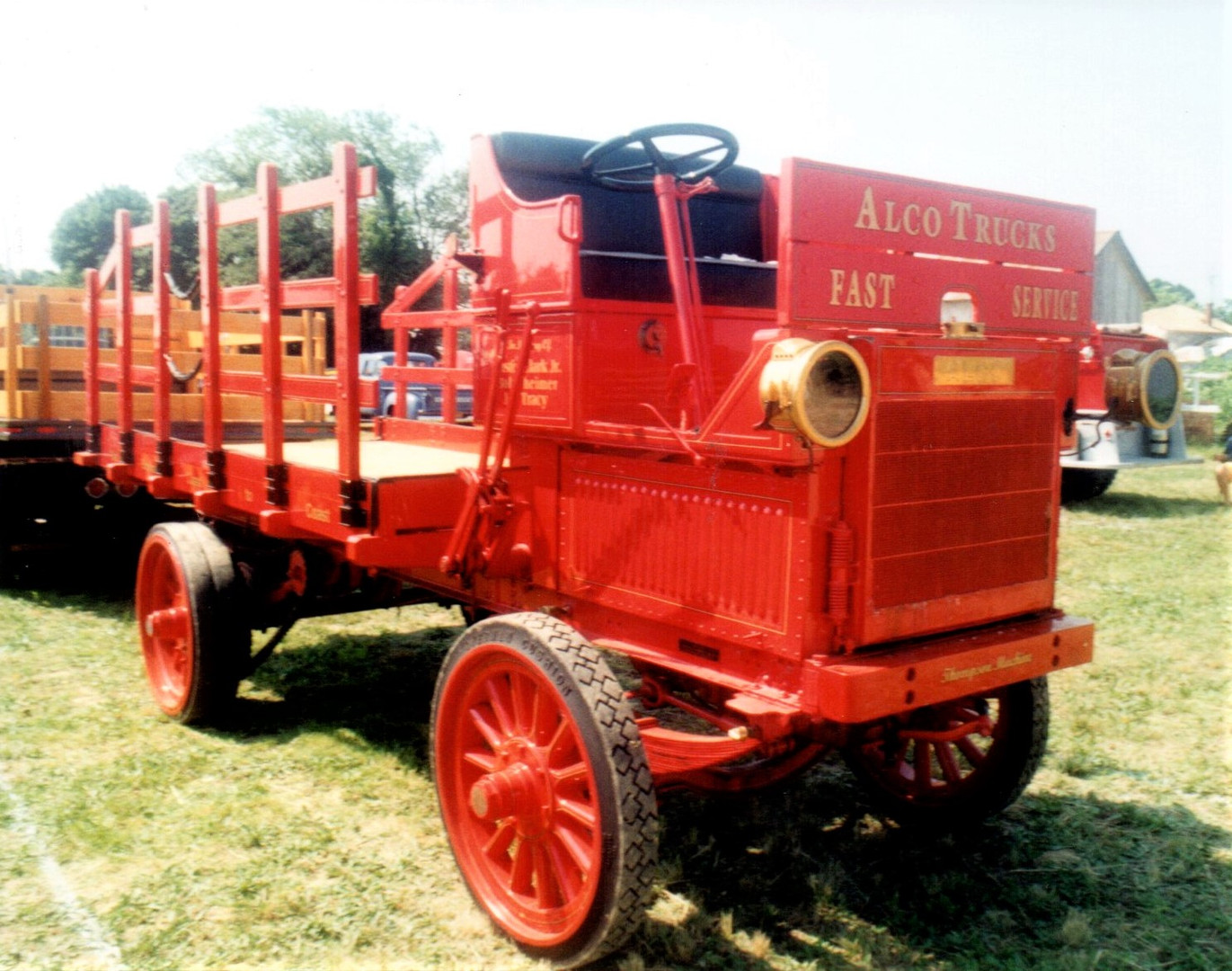 1912 Alco stake bed - Tony Guarnaschelli