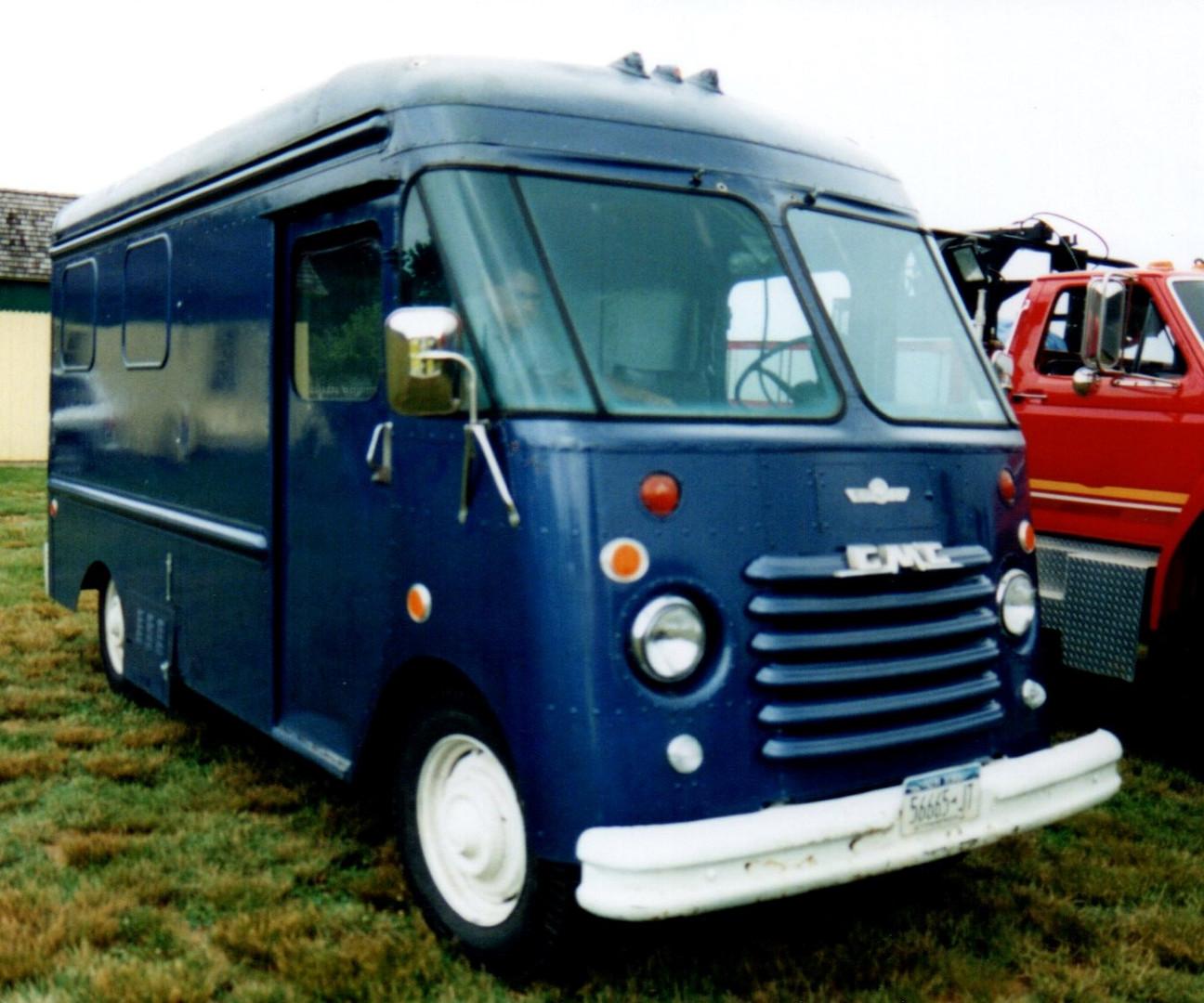 1960 GMC step van