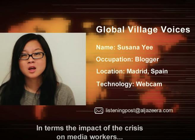 Video Al Jazeera Journalism Spain Susana Ye